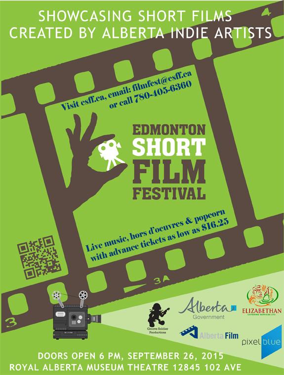 Edmonton Short Film Festival 2015 Poster
