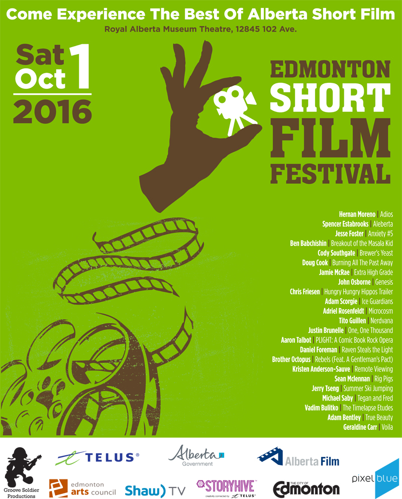 Alberta's Festival of the Fall featuring the best of Alberta indie short film.